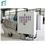 Лопаточное пространство обезвоживания осадков машины для обработки осадка сточных вод