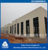 Struttura d'acciaio prefabbricata di norma ISO Con il fascio d'acciaio galvanizzato di H