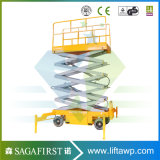 500kg 8m de Elektrische Hydraulische Beweegbare Lift van de Mens van de Apparatuur van de Lift van de Schaar