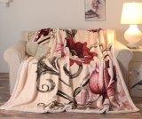 良質の暖かく柔らかい浮彫りにされたRaschel毛布かアクリル毛布