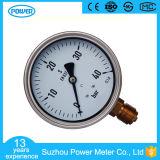 4inch-100mm 절반 스테인리스 바닥 스레드 유형 액체에 의하여 채워지는 압력 계기