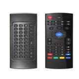 teledirigido sin hilos 2.4G con el teclado para la TV elegante