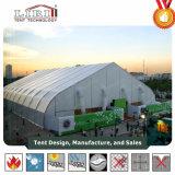 40X60m TFS алюминиевых кривой палатка в спортивном зале для продажи