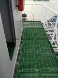 Reja fenólica fuerte y durable de FRP de FRP de la extrusión por estirado del suelo