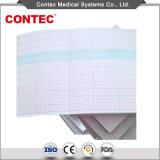 Z-plis du papier d'impression thermique de Monitor-Contec foetale