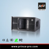Doble de 600W Line Array de neodimio de 10""