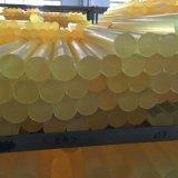 노란 폴리우레탄 로드, PU 로드, 플라스틱 로드 의 폴리우레탄 바, PU 바, 플라스틱 바