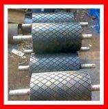 Ralentissement de poulie de bande de glissière de poulie de tête de convoyeur à bande