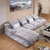Modèle réglé de sofa en bois simple moderne de type