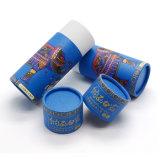 Precios baratos de papel Kraft Caja de ronda ronda diseño personalizado del cilindro de caja de regalo papel de embalaje