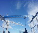 Мостовой кран электрического одиночного прогона 10 тонн надземный для сбывания