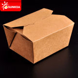 Eliminare Kraft Paper Box per Food