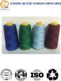 Filato cucirino 100% della tessile del ricamo del poliestere per il cucito del 150d/3