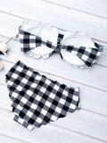 水着、ビキニ、プールのスーツは、ビキニ浜の水着にパッドを入れた