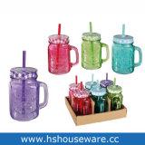 Ананас дизайн цветные стекла Мейсон кувшин блендера, стакан Мейсон питьевой кувшин блендера