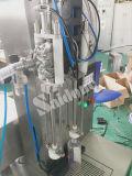 Máquina de llenado semiautomática para la resolución de espumas