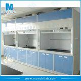 Capa química das emanações com sistema de ventilação do laboratório