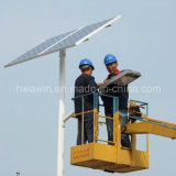 8m 9m 10m Light Pole 60W lâmpada LED Solar Street Light