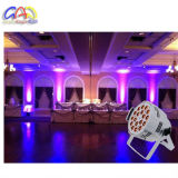 18PCS * 18W 6in1 RGBAW UV LED de aluminio Par puede