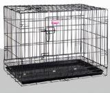 애완 동물 제품 개 고양이 감금소 2 한 벌