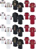 Abitudine nera rossa bianca del pullover di football americano dell'oro dell'elite di Atlanta Ryan Jones Desmond Trufant Devonta Freeman dei bambini dei capretti delle donne del Mens qualsiasi nome qualsiasi numeri