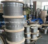 Câble métallique d'acier inoxydable AISI304