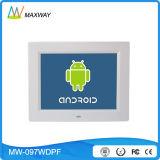 WiFi Marco de 9,7 pulgadas de alta definición LCD sistema operativo Android de foto digital