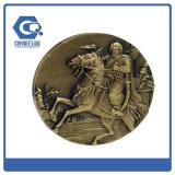 Любой металл логоса эмали спорта 50mm резвится медаль