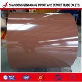 Fabricant de tôles en acier galvanisé Pre-Painted / PPGI a fait de la Chine