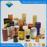 Zoll-100% aufbereitetes Zylinder-Form-kundenspezifisches Papppapier-Wein-Gefäß