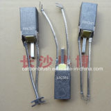 De Vervaardiging van China van Koolborstel LFC554 voor de Motor van de Industrie