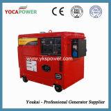 Generatore diesel silenzioso eccellente 5.5kw con colore rosso