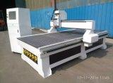 높은 정밀도 절단 나무 또는 금속 또는 Acrylic/PVC Hyrid 자동 귀환 제어 장치 드라이브 두 배 나사 조각 CNC 대패 기계