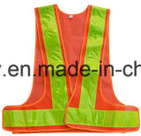 Het hoge Vest van de Veiligheid van het Verkeer van het Zicht Weerspiegelende