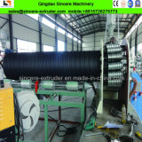 HDPEの鋼鉄ベルトが付いている空の壁の巻上げの管の製造業機械