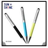 Commerce de gros de la promotion de l'écran tactile stylo stylo à bille de métal