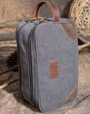 La tela di canapa impermeabile del sacchetto della tela di canapa di modo del sacchetto di corsa del sacchetto della tela di canapa della toletta dei sacchetti di frizione della tela di canapa insacca (WDL01074)