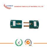 S/R du type prises de thermocouple avec la couleur verte
