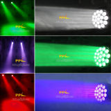 19PCS 12W Osram LED Beam Moving Head Light com Zoom