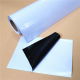 Het witte/Grijze/Zwarte Verwijderbare Zelfklevende Vinyl van Geschikt om gedrukt te worden pvc van de Lijm