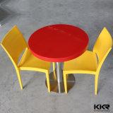 Gaststätte-runder Speisetisch und Stuhl