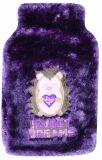 Tampa de pelúcia puro com bordados Deer para BS garrafa de água quente