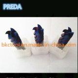 Голубые Coated торцевые фрезы карбида HRC60 для подвергать высокую сталь механической обработке твердости