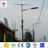 30W 40W 50W 60W preços das luzes da rua Solar com LED luz de rua e bateria de lítio