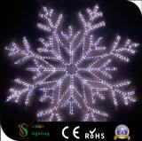 LED de Noël des flocons de neige en plein air