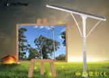 Lâmpada de rua solar do diodo emissor de luz da luz de rua do diodo emissor de luz do poder superior
