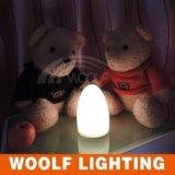 Lámpara de mesa de control remoto LED, luz de huevo de noche, luz de jardín