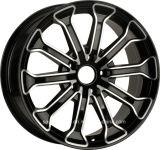 Rodas para Audi, bordas da liga da réplica da roda da liga do carro