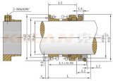 Le joint mécanique utilisé pour la pompe à eau, pompe centrifuge (KL113-65)