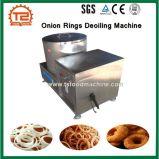Anillo de cebolla Deoiling Máquina y alimentos fritos pollo y pescado Deoiling máquina